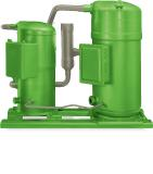 The BITZER Advanced Header Technology System (BAHT) enables OEMs to connect even differing ORBIT compressors in tandems to meet end customer requirements