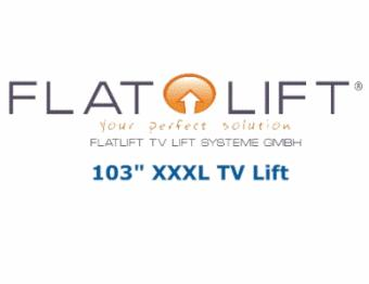 """103"""" Flatlift XXXL TV Lift"""