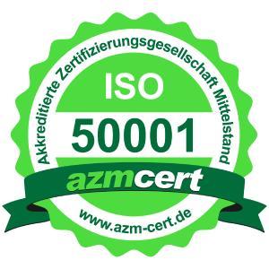 walter services jetzt auch mit Zertifikat im Bereich Energiemanagement