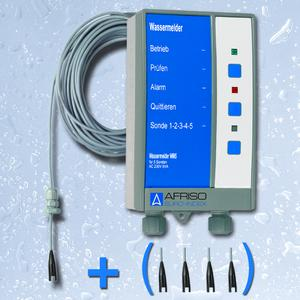 The WM5 water alarm unit monitors facilities for water and protects the operator from costly water damage