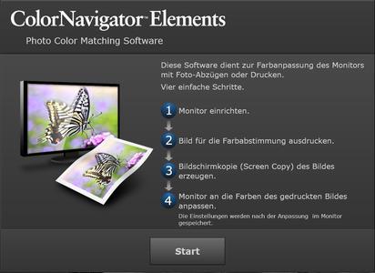 EIZO ColorNavigator Elements (Deutsch)