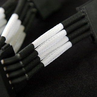 NZXT Premium Sleeved Cables White