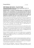 """[PDF] Pressemitteilung: GSD Software mbH steht im """"Top 100""""-Finale"""