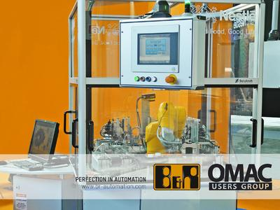 Nestlé's well-traveled OMAC demo will appear at many trade fairs this year. The OMAC brought its interoperability demonstration unit also to the Packology trade show in Rimini, Italy.