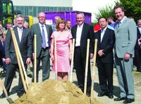 Sod-turning ceremony for 3.5 million euro investment in Übach-Palenberg