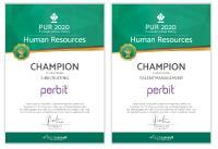 perbit ist HR-Software-Champion im E-Recruiting und Talentmanagement