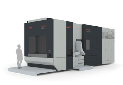 Verkleidung der mittleren Baureihe HEC 630 (Quelle: Heckert GmbH)