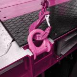One click - lots of advantages OPTILASH-CLICK - new RUD lashing point makes coating easier in vehicle construction