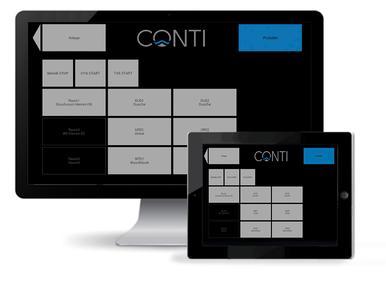 Tablet Anlagenübersicht (Foto: www.conti.plus)