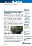 [PDF] Press Release: Performance upgrade: Rheinmetall presents new high-roof version of the Fuchs/Fox wheeled armoured transport vehicle