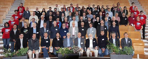 Physikerinnen und Physiker aus 21 Ländern kamen vom 22.-25. September 2015 an der TU Kaiserslautern zu einer hochkarätigen Tagung zusammen (Foto: TU Kaiserslautern)