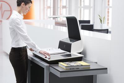 Zeutschel zeta für Büros
