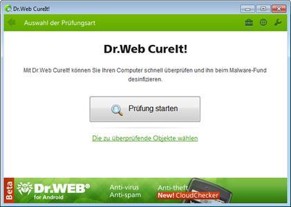 Doctor Web bringt Beta-Version von Dr.Web CureIt! 7.0