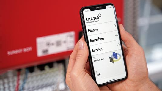 SMA 360 : New app offers all-round support for PV solar power professionals