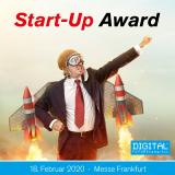 Start-Up Award auf dem DIGITAL FUTUREcongress am 18. Februar in Frankfurt
