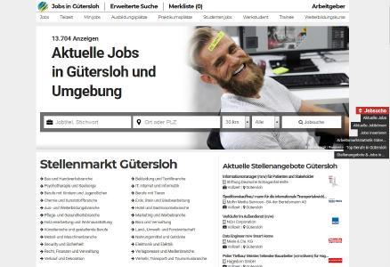 Aktuelle Jobs und Stellenanzeigen Gütersloh