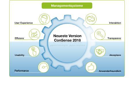 Aktuelle Version ConSense 2018: Interaktive Landkarten, automatische Übersetzungen, verbesserte User Experience – für einen noch komfortableren Einsatz