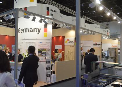 German Pavillon auf Gulfood Dubai / Eva Birnbaum