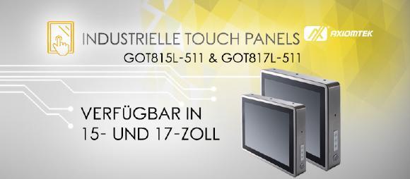 Die neuen Touch Panels