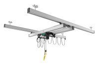 VERLINDE fits out a new building with a light and ergonomic overhead handling system