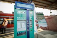 WLAN an RMV-Fahrkartenautomaten (© RMV/Christof Mattes)