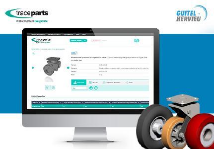 Guitel Hervieu veröffentlicht seine CAD-Modelle jetzt auf der TraceParts-Plattform