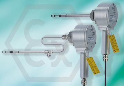 SCHMIDT® flow sensors SS 20.500 are of especially dirt-resistant design and can also be used in dusty and explosive environments with ATEX certificate