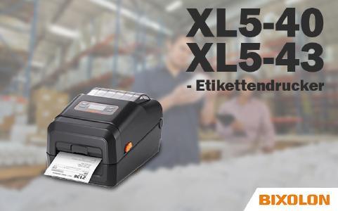 Bixolon XL5-40 und XL5-43 - Etikettendrucker