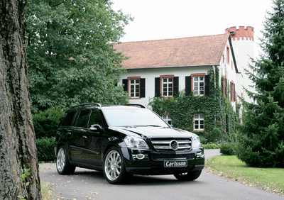 Off-road vehicle with S class comfort / The Carlsson CK50