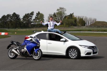 Stefan Bradl setzt auch privat voll auf Honda