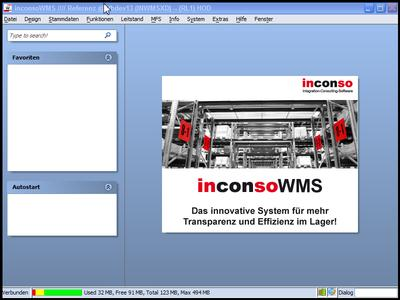 inconso Windows Framework Start
