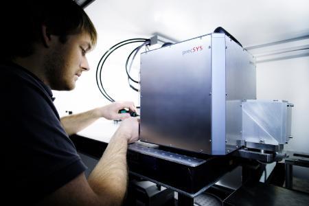 Kundenservice für Laser-Scan-System