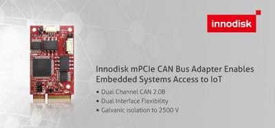 Innodisk mPCIe CAN-Bus-Adapter