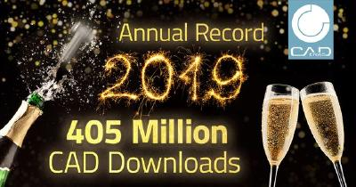 CADENAS pops the corks: 405 million 3D CAD models downloaded in record year 2019