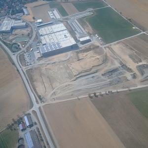 Luftbild - Gelände Hollenbach