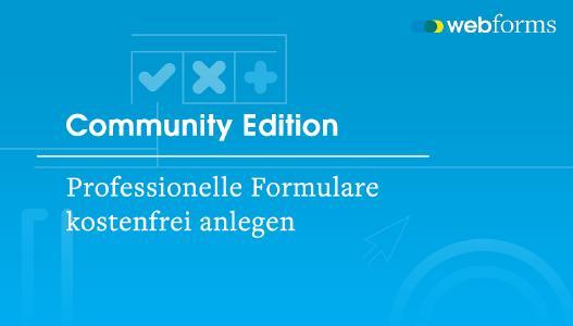 Monday Webforms Community Edition - Professionelle Formulare kostenfrei anlegen