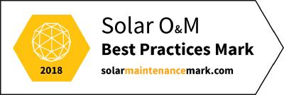greentech certifies for the world's first O&M Best Practice Mark