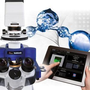 Das neue JPK NanoWizard® 4 BioScience Rasterkraftmikroskop mit ExperimentControl™ für die Steuerung über das Internet mit dem PC, Tablet oder Smartphone.