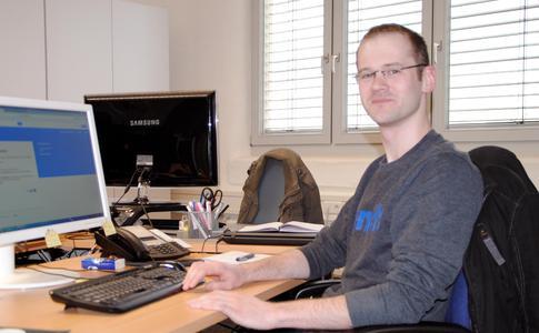 Das neueste Teammitglied im E-Shop-Management bei shoptimax, Eugen Bachmut