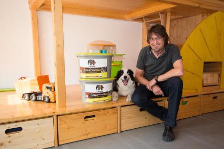 capageo farbeinsatz bei der kleinkindbetreuung zwingenberger zwerge caparol farben lacke. Black Bedroom Furniture Sets. Home Design Ideas