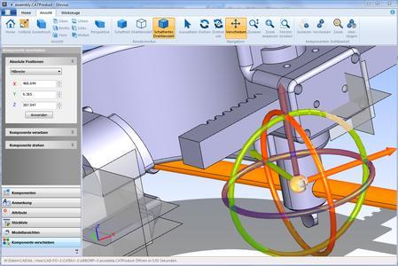 Multifunktionale CAD Visualisierung mit der neuen Version 4.1 von Glovius