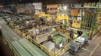 Die aktuelle Modernisierung konzentriert sich auf den Anlagenbereich der Warmbandhaspel