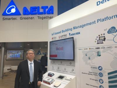 Delta zeigt auf der Hannover Messe 2018 intelligente Lösungen zur Energieeinsparung für nachhaltige Städte