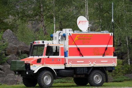 Mobiles Satelliteninternet für Einsatzkräfte
