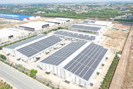 Commercial rooftop plants in Vietnam