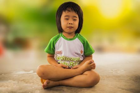 Zu Yoga gehört auch die Meditation