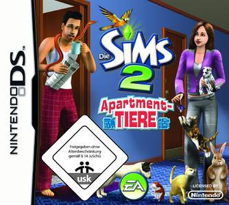 Die Sims 2 Apartment Tiere Packshotl
