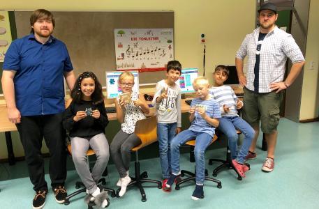 Kooperation-itemis-Schule-am-Lüserbrach-Programmieren-mit-Kindern