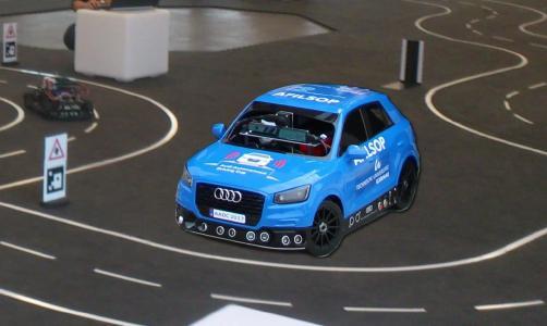 Studententeam der TU Ilmenau gewinnt Audi Autonomous Driving Cup 2017, © TU Ilmenau