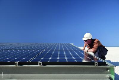 hocheffizientes Solarmodul